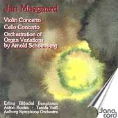 Maegaard: Cello Concerto, etc;  Schoenberg: Variations Op 40