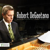Chopin: Piano Concerto No. 1; DeGaetano: Piano Concerto No. 1 / Robert DeGaetano, piano  [CD+DVD]