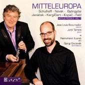 Mitteleuropa - Music for piccolo by Schulhoff, Novak, Gyongyosi, Janacek, Karg-Elert et al. / Jean-Louis Beaumadier, piccolo; Jordi Torrent, piano