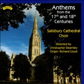 Anthems from the 17th & 18th Centuries