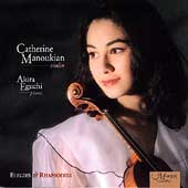 Elegies and Rhapsodies / Catherine Manoukian, Akira Eguchi