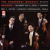 Brahms: String Quartet 3, String Quintet 1 /Shanghai Quartet