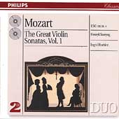 Mozart: The Great Violin Sonatas Vol 1 / Szeryng, Haebler