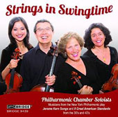 Strings in Swingtime: Standards by Jerome Kern, et al. / New York Philharmonic Chamber Soloists
