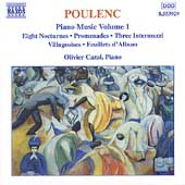 Poulenc: Piano Music Vol 1 / Olivier Cazal