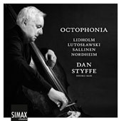 Octophonia - Works by Arne Nordheim (1931-2010), Aulis Sallinen (b.1935), Ingvar Lidholm (b.1921) & Witold Lutoslawski (1913-1994) / Dan Styffe, double bass; Ingrid Andsnes, piano