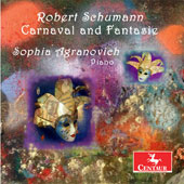 Robert Schumann: Carnaval, Op. 9; Fantasie in C major, Op. 17 / Sophia Agranovich, piano