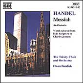 Handel: Messiah / Burdick, The Trinity Choir and Orchestra