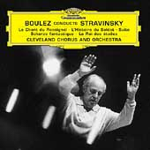 Boulez conducts Stravinsky - Le Chant du Rossignol, etc