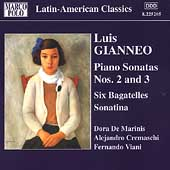 Latin-American Classics - Gianneo: Piano Works Vol 1. Sonatas, etc