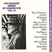 The Complete Songs of Charles Ives Vol 4