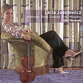 Beethoven, Ravel, Salonen, et al / Josefowicz