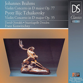 Brahms, Tchaikovsky: Violin Concertos/ Oistrakh, Konwitschny