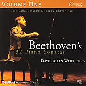 Beethoven's 32 Piano Sonatas Vol 1 / David Allen Wehr