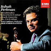 Mendelssohn, Bruch: Violin Concertos / Itzhak Perlman, Bernard Haitink, Concertgebouw Orchestra