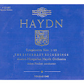 Haydn: Symphony no 1-20 / Ad&aacute;m Fischer, et al