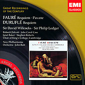 Fauré, Duruflé: Requiems, etc / Willcocks, Ledger, et al