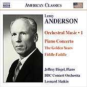 American Classics - Leroy Anderson: Orchestral Music, Vol 1