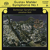 Mahler: Symphony no 1 in D major / Nott, Bamberg SO