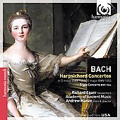Bach: Harpsichord Concertos BWV 1052 & 1053, Triple Concerto / Egarr, Manze