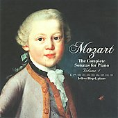 Mozart: The Complete Sonatas for Piano Vol 1 / Jeffrey Biegel