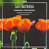 Boccherini: Symphonies & Cello Concertos / Johannes Goritzki, et al