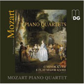 Mozart: Piano Quartets KV478 & 493 [SACD] / Mozart Piano Quartet