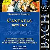 Bach: Cantatas, BWV 43-45