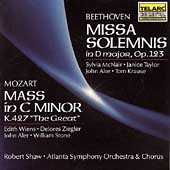 Classics - Mozart: Mass;  Beethoven: Missa Solemnis / Shaw
