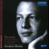 Brahms: Complete Works For Solo Piano, Vol. 4