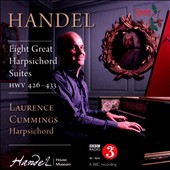 Handel: Eight Great Harpsichord Suites HWV 426-433