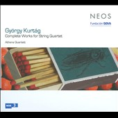 Gy&#246;rgy Kurt&#225;g: Complete Works for String Quartet / Athena Quartet
