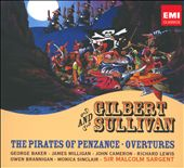 Gilbert & Sullivan: The Pirates of Penzance; Overtures / Sir Malcolm Sargent