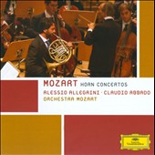 Mozart: Horn Concertos Nos. 1-4 / Alessio Allegrini