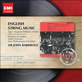 English String Music by Edward Elgar, Ralph Vaughan Williams and Frederick Delius / Barbirolli