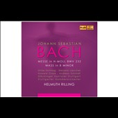 Bach: Mass in B minor, BWV 232 / Sonntag, Lipovsek, Crook,  Schmidt. Rilling