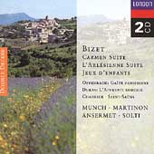 Bizet: Carmen Suite, etc;  Offenbach, at al / Munch, et al