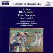De Greef: Piano Concertos no 1 & 2 / De Grote, Devreese