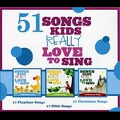 Various Artists: 51 Songs Kids Really Love To Sing