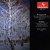 Rachmaninov, Scriabin: Piano Works / Faina Lushtak