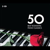 50 Best Romantic Piano Classics - Popular romantic classics for solo piano or piano & orchestra