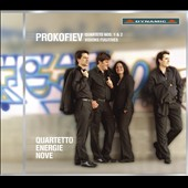 Prokofiev: Quartets Nos. 1 & 2; Visions Fugitives / Quartetto Energie Nove