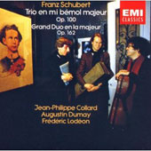 Schubert: Piano Trio no 2, Duo in A / Collard, Dumay, Lodeon