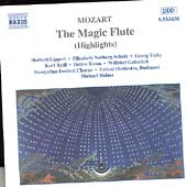Mozart: The Magic Flute (Highlights) /Hal&aacute;sz, Lippert, et al