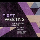 Michael Janisch/Lee Konitz/Dan Tepfer: First Meeting: Live in London, Vol. 1 [Digipak] *