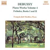 Debussy: Piano Works Vol 4 / François-Joël Thiollier
