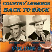 Ernest Tubb/Bob Wills: Country Legends Back to Back, Vol. 2 *