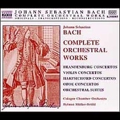 Bach: Complete Orchestral Works / M&uuml;ller-Br&uuml;hl, et al