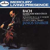 Bach: Suites for Solo Cello / Janos Starker