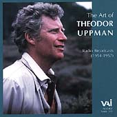 The Art of Theodor Uppman - Arias from Ballo, Carmen, etc